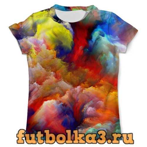Футболка color explosion мужская