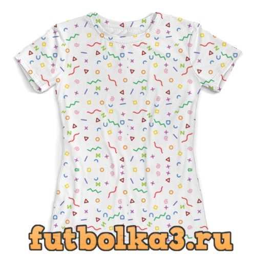 Футболка Color Pattern #4 женская