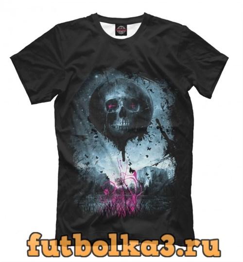 Футболка Color Skull мужская