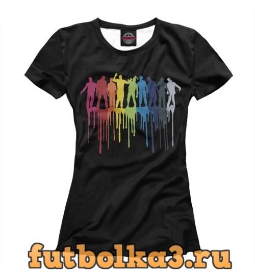 Футболка Color Zombies женская