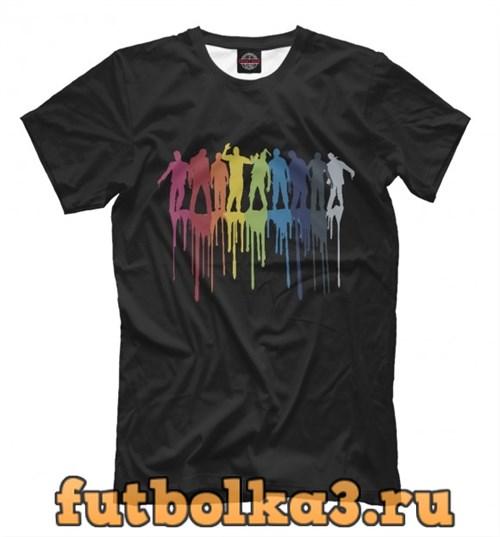 Футболка Color Zombies мужская