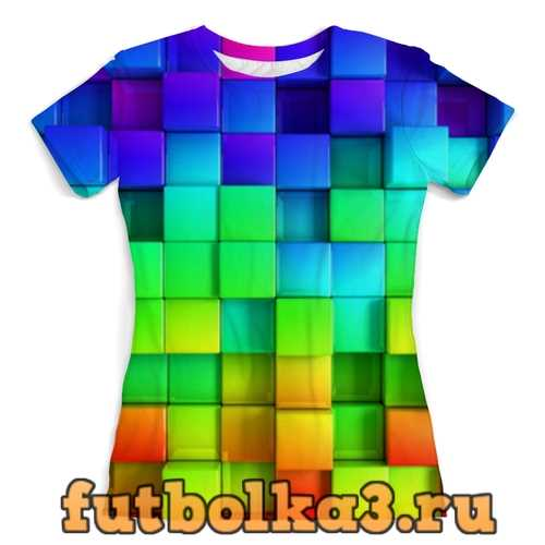 Футболка Colorful женская