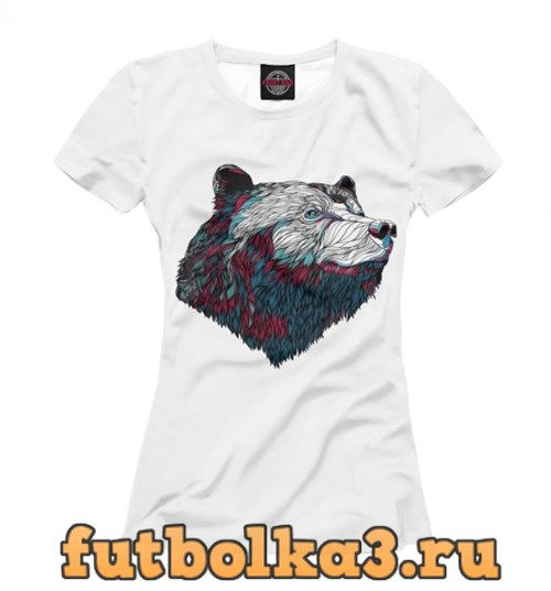 Футболка Colorfull Bear женская