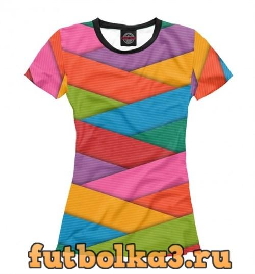 Футболка Colors женская