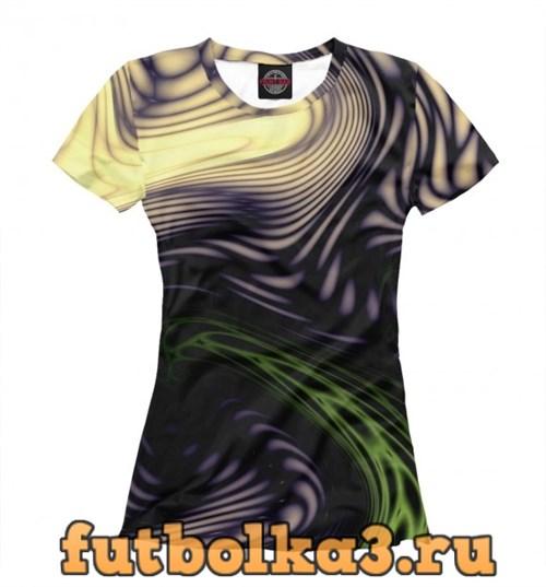 Футболка colour abstraction женская