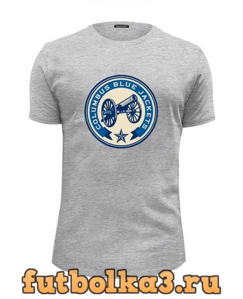 Футболка Columbus Blue Jackets / NHL USA мужская