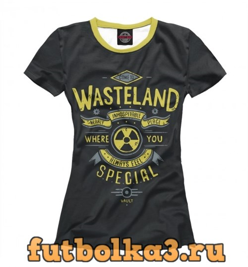 Футболка Come to Wasteland женская