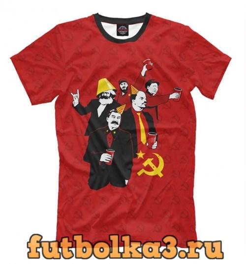 Футболка Communist Party мужская