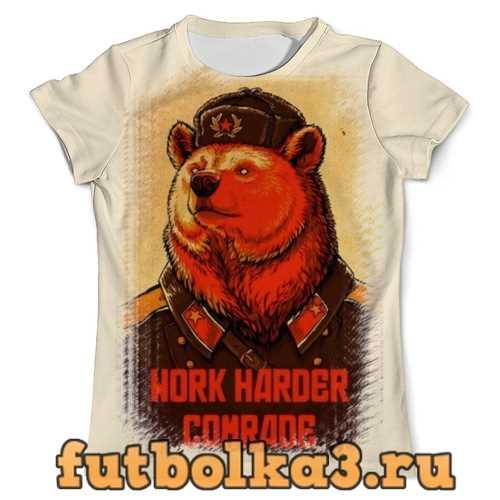 Футболка Comrade Bear мужская