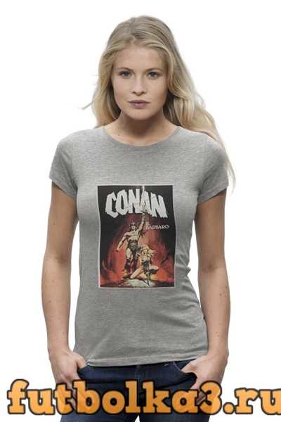 Футболка Conan the Barbarian женская