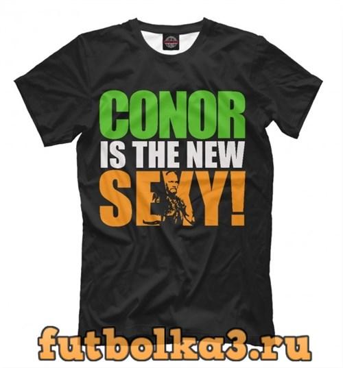 Футболка Conor Is The New Sexy мужская