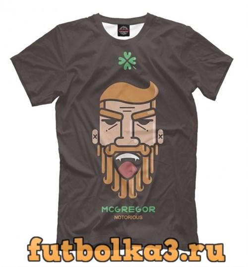 Футболка Conor McGregor - Minimalism мужская