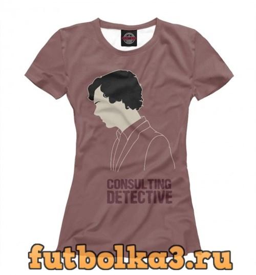 Футболка Consulting Detective женская