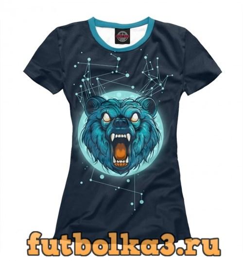 Футболка Cosmic Bear женская