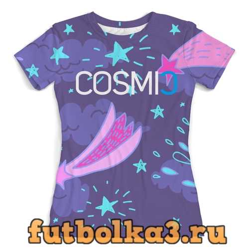 Футболка Cosmic Космик кометы женская