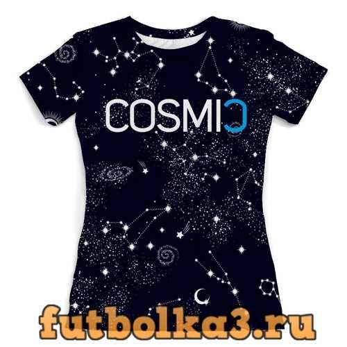 Футболка Cosmic Космик созвездия женская