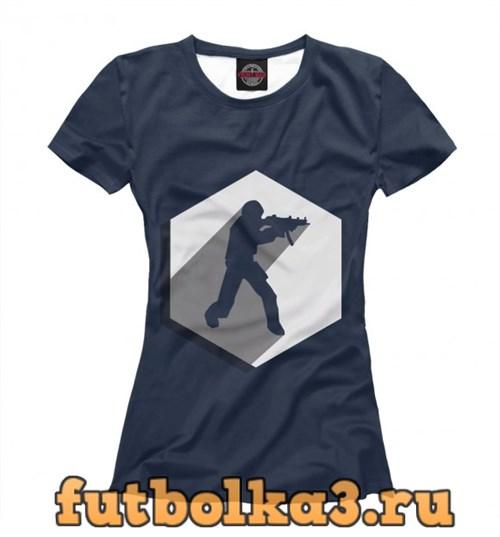 Футболка Counter Logo женская