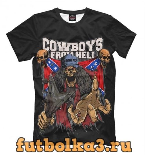 Футболка Cowboys From Hell мужская