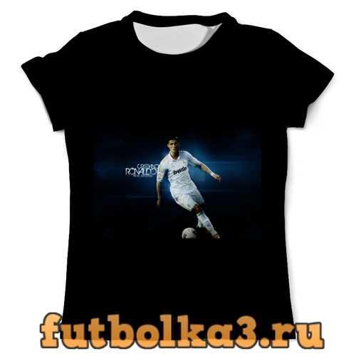 Футболка CR7 black мужская