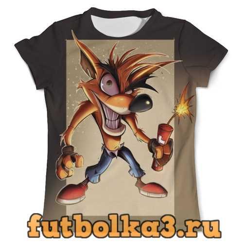Футболка Crash Bandicoot мужская