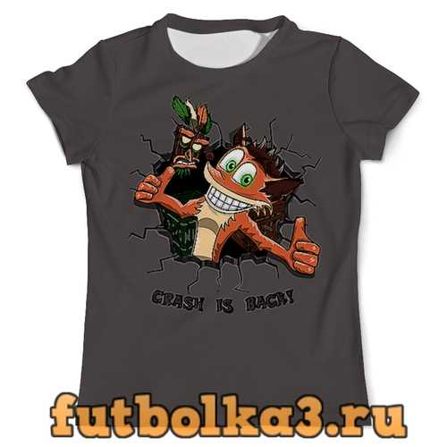 Футболка Crash is back! мужская