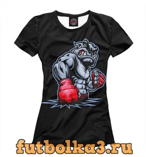 Футболка Crazy Bulldog женская