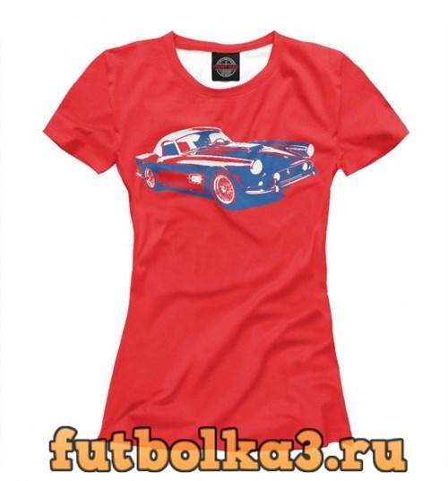 Футболка Crazy Car женская