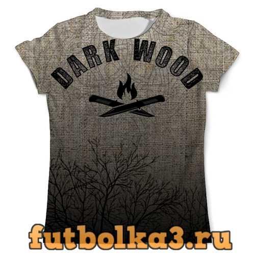 Футболка DARK WOOD мужская