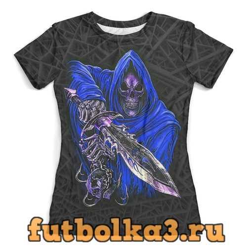 Футболка Death Skull (Halloween) женская