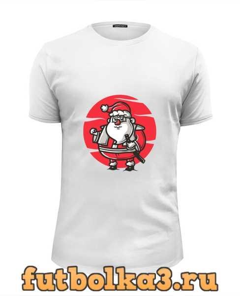Футболка Дед мороз мужская