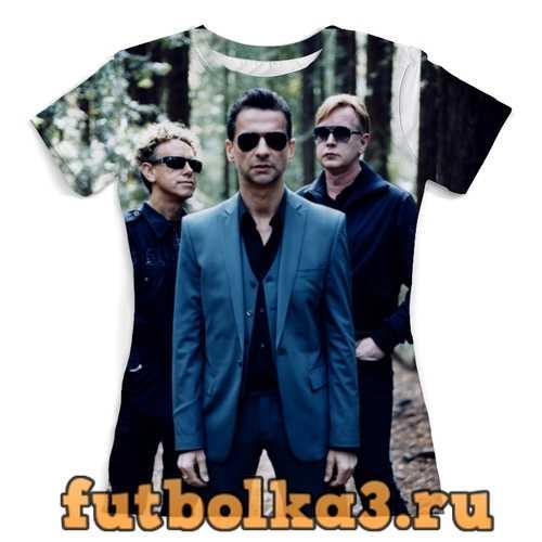 Футболка Depeche Mode женская