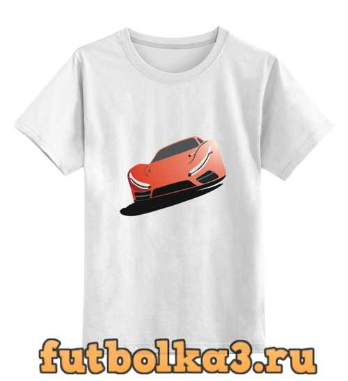 Футболка детская автомобиль