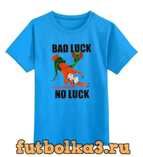 Футболка детская Bad Luck