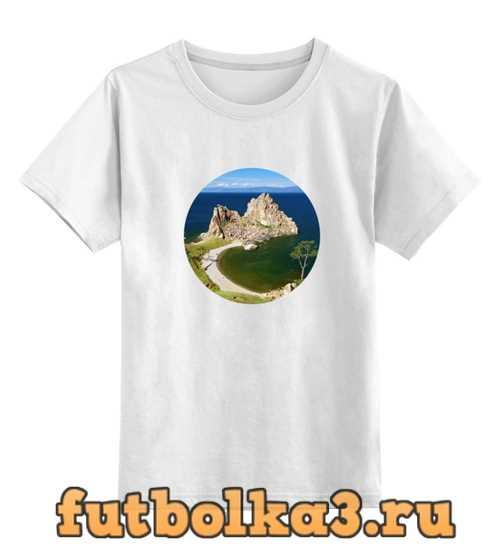 Футболка детская Байкал (Ольхон)