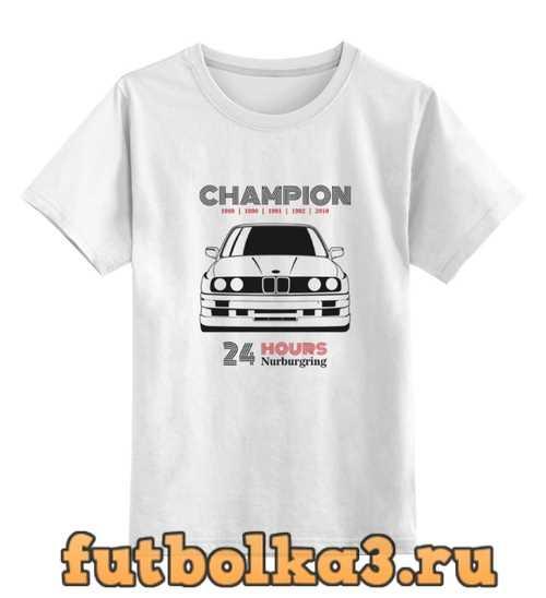 Футболка детская Champion M3 E30