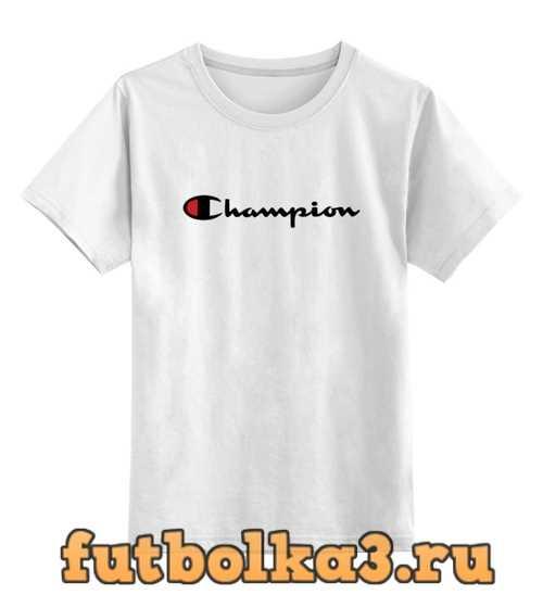 Футболка детская Champion