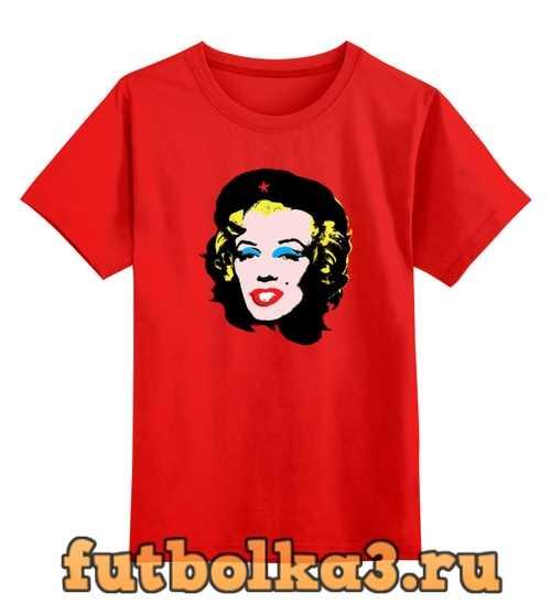 Футболка детская Che Guevara- Marilyn Monroe