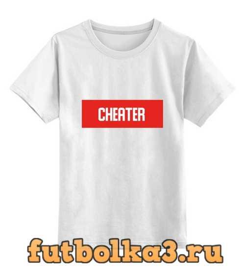 Футболка детская Cheater