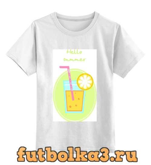 Футболка детская Cocktail summer