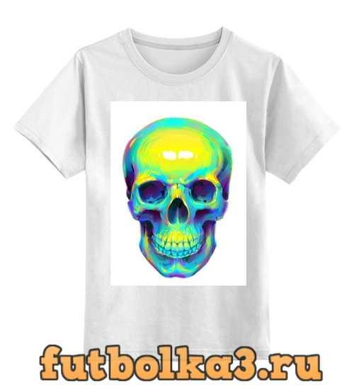 Футболка детская Colorfull skull