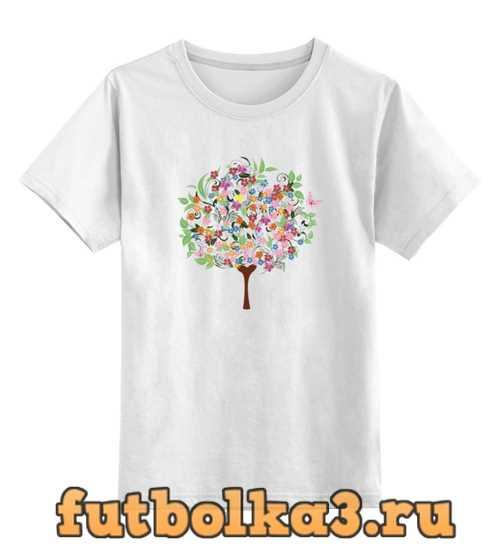 Футболка детская Дерево любви