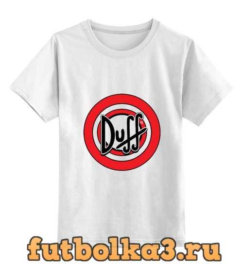 Футболка детская Duff beer