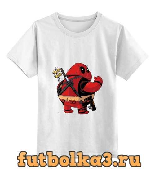 Футболка детская Fat Deadpool