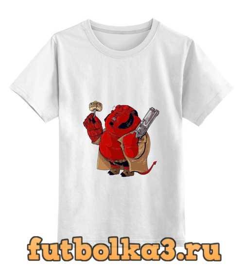 Футболка детская Fat Hellboy