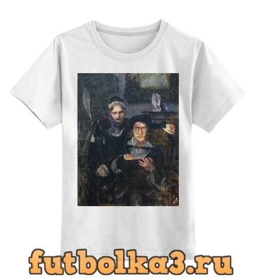 Футболка детская Гамлет и Офелия (картина Михаила Врубеля)