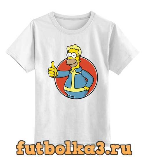 Футболка детская Гомер Симпсон