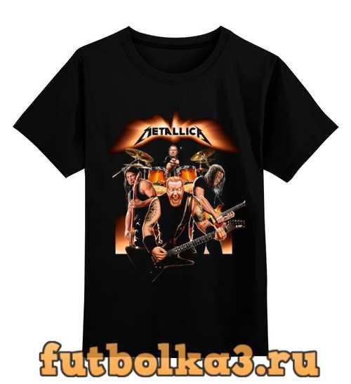 Футболка детская Metallica - fan-art