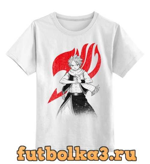 Футболка детская Нацу. Fairy Tail