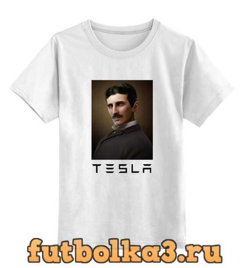 Футболка детская Никола Тесла