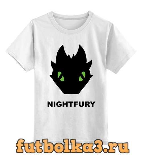 Футболка детская Ночная Фурия (Night Fury)